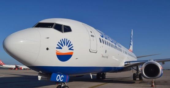 Sunexpress yeni uçağını filosuna kattı