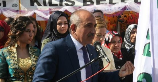 Suriyeli ve Türk kadınlar 8 Mart'ı birlikte kutladı