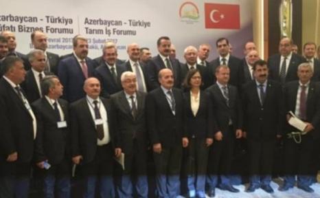 TARSİM, Türkiye-Azerbaycan Tarım İş Forumu'nda