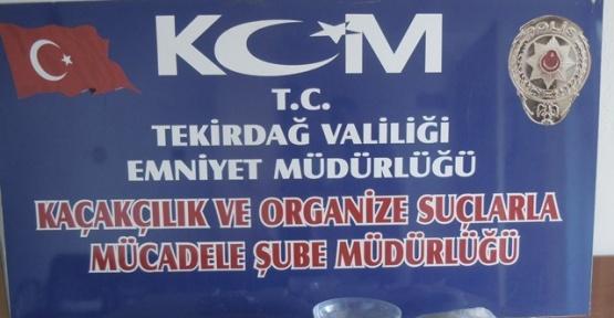 Tekirdağ'da 'torbacılara' operasyonda 3 gözaltı