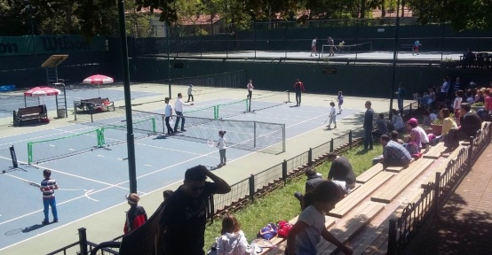 Tenisin genç yıldız adayları Zonguldak'a gelecek