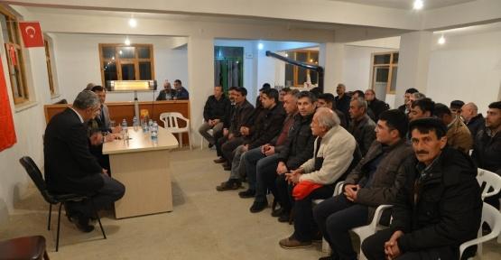 Tepebaşı Belediye Başkanı Ataç, Bozdağ'da vatandaşlarla buluştu