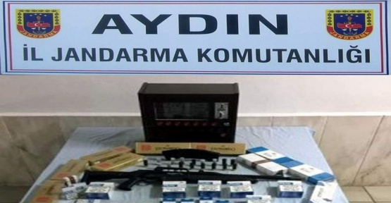 Terör örgütü üyesi kokoreççi kaçak sigara satarken yakalandı