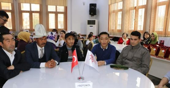 Terörle mücadelede şehit olan Kırgız Türkleri unutulmadı