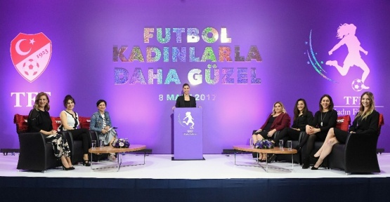 TFF Dünya Kadınlar Günü'nü özel bir etkinlikle kutladı
