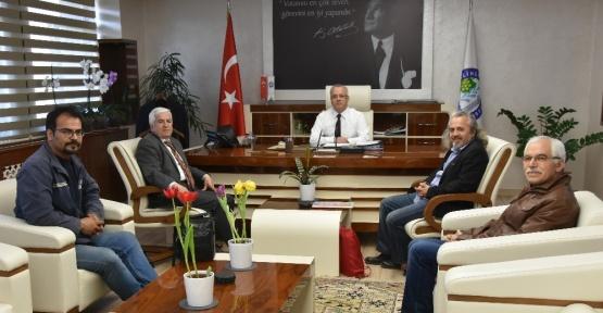 Tiyatro Şenlik Komitesinden Başkan Kayda'ya ziyaret
