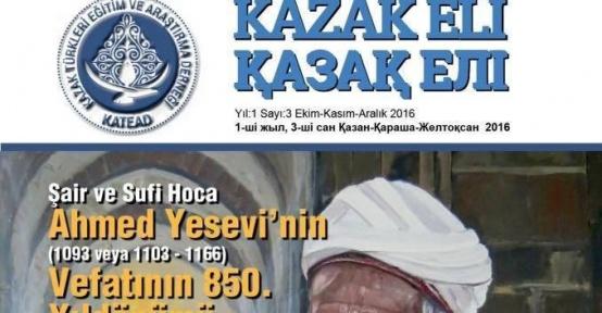 """TKÜUGD: """"Kazak Eli Dergisinin 3. sayısı yayımlandı"""""""