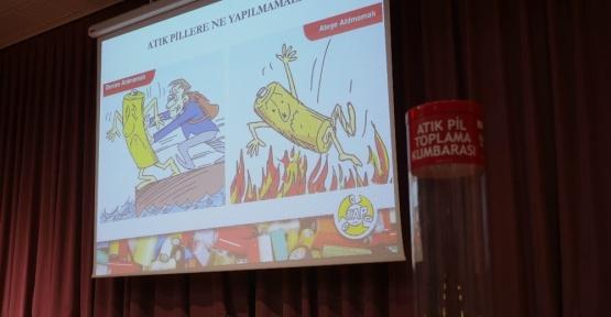 Trabzon'da en çok atık pil toplayan okul ödüllendirecek