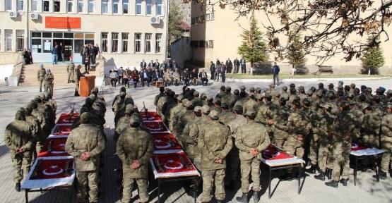 Tunceli'de 168 güvenlik korucusu yemin etti