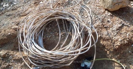 Tunceli'de 700-750 kg amonyum nitrat ile güçlendirilmiş el yapımı patlayıcı ele geçirildi