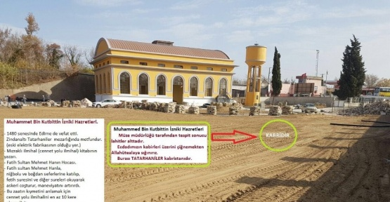 Türbe üzerine düğün salonu yapılması Edirne'yi ayağa kaldırdı