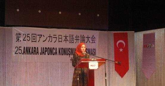 Türk öğrenciler Japonca yeteneklerini sergiledi