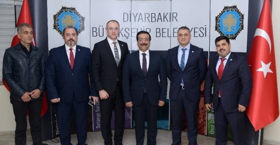Türkiye Sualtı Sporları Federasyonu'ndan Başkan Atilla'ya ziyaret