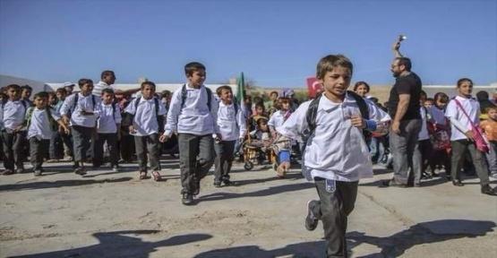 Türkiye'den Cerabluslu Çocuklara Eğitim Desteği