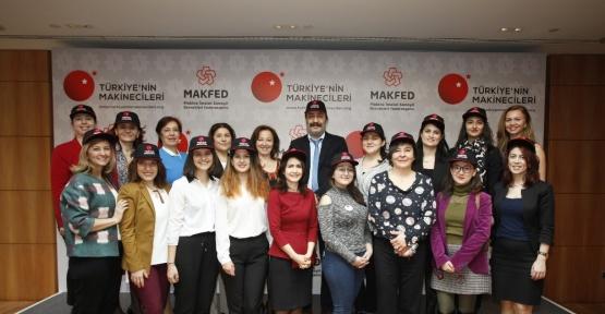 Türkiye'nin Makinecileri 'Kadın Makinecilerle, Var Gücümüzle' projesini tanıttı