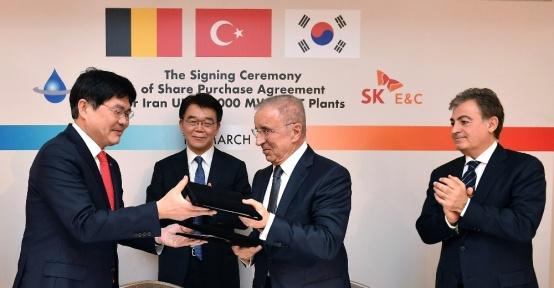 Ünal Aysal ve Koreli SK Group'tan bir milyar euroluk ortaklık