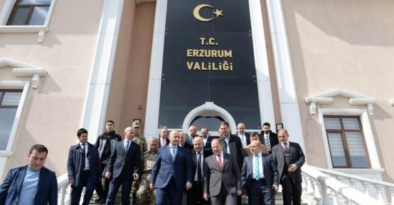 """Vali Azizoğlu, """"Erzurum 2026 kış olimpiyatlarına talip"""""""