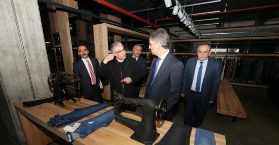 Vali Baruş ve Başkan Yılmaz istihdam seferberliği çalışmalarını sürdürüyor