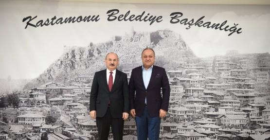 Vali Karadeniz, Başkan Babaş'ı ziyaret etti