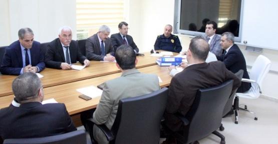 Van'da 'güvenli öğrenci taşınma' toplantısı