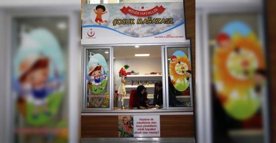 Van'da hasta ve hasta yakınları için mağaza açıldı