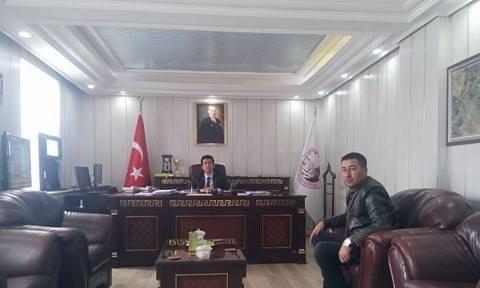 VEDAŞ yetkilisinden Başkan Vekili Öztürk'e ziyaret