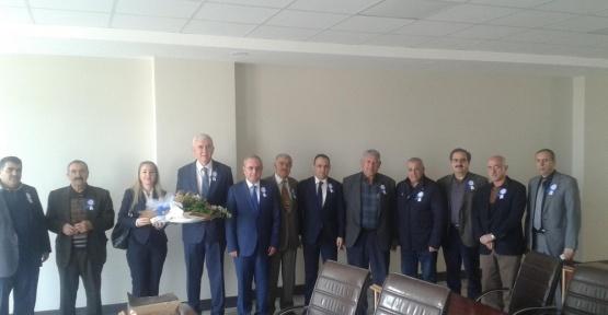 Vergi Haftası Nedeniyle Defterdarlığından KİTSO'ya ziyaret