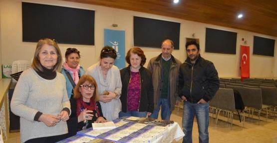 Yazar Gülser Han imza günü ve söyleşiye katıldı