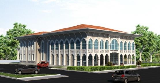 Yazıhan Kültür Merkezinin kaba inşaatı tamamlandı