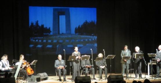 Yenimahalle'de Çanakkale Zaferi'nin 102. yılı kutlandı