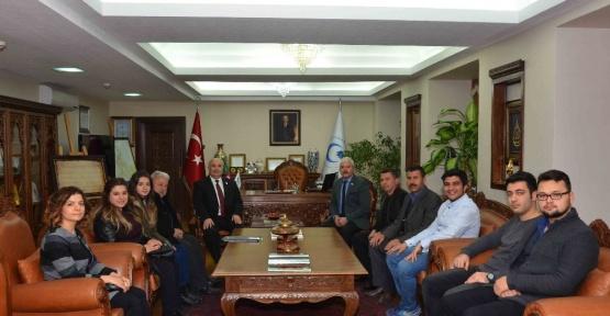 Yeşilay Cemiyetinden Adıyaman Üniversitesine ziyaret