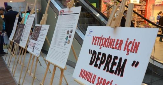 Yetişkinler için deprem sergisi Espark'ta
