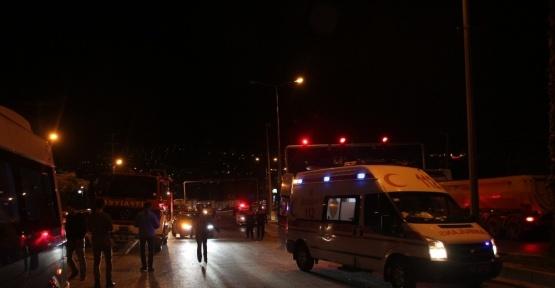 Yolcu minibüsü ile otomobil çarpıştı: 2 yaralı