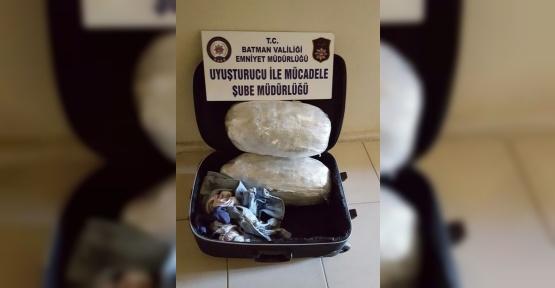 Yolcu otobüsünde 7 kilo uyuşturucu ele geçirildi