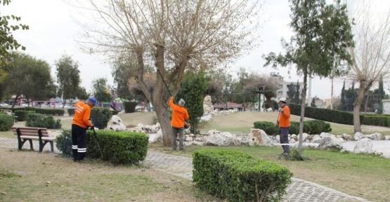 Yüreğir'de parklar yenileniyor