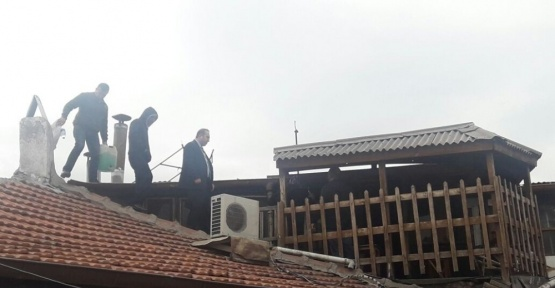 Zenger Konağı'nın kamulaştırılma kararına tepki gösteren Zeki Zenger, kendini yakmak istedi