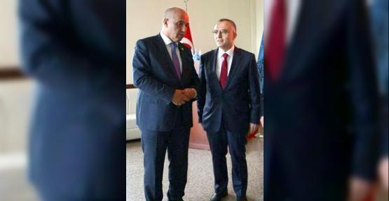 Ziraat Odası Başkanı Karaman'dan Bakan Ağbal'a Teşekkürlü Karşılama