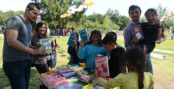 Antalya'da Çocuklara özel ve anlamlı kutlama