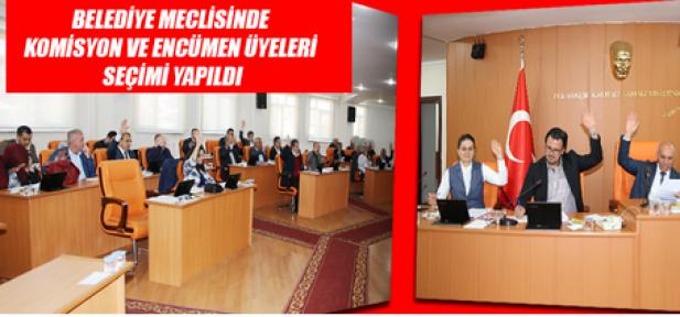 Karaman Belediye Meclisi'nin Nisan ayı toplantısı yapıldı