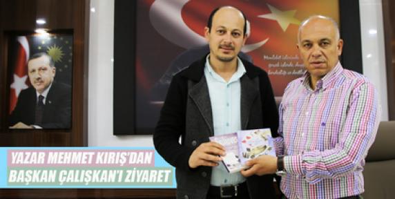 Karaman'da Yazar Kırış, Başkan Çalışkanı Ziyaret Etti