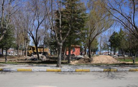 Karaman'da yeşil alan düzenleme çalışması başlıyor