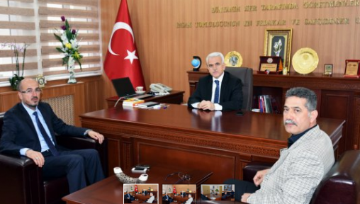 Karaman  Milliyetçi Hareket Partisi'nden Kuntoğlu'na Ziyaret