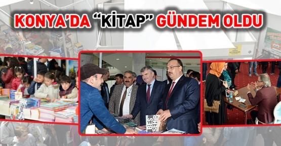 Konya'da gündem kitap haberleri ile dolu