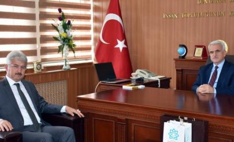 Konya İl Milli Eğitim Müdürlüğü Kuntoğlu'nu Ziyaret Etti