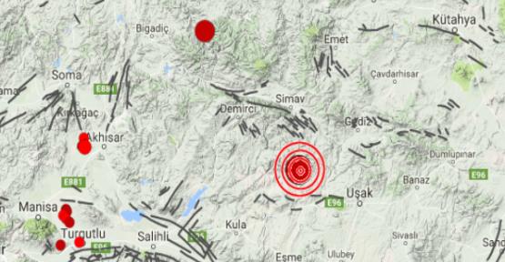 Manisa Selendi'de deprem oldu
