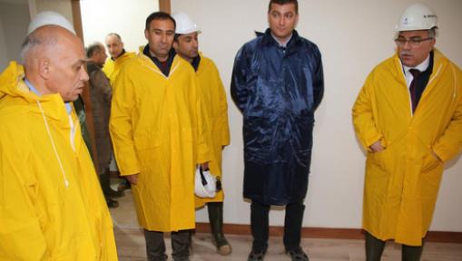TOKİ Başkanı Ergün Karaman'da Konutları İnceledi