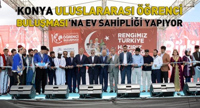 10. Uluslararası Öğrenci Buluşması Konya'da