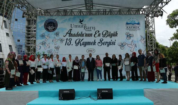 Anadolu'nun en büyük sergisi Kayseri'de açıldı