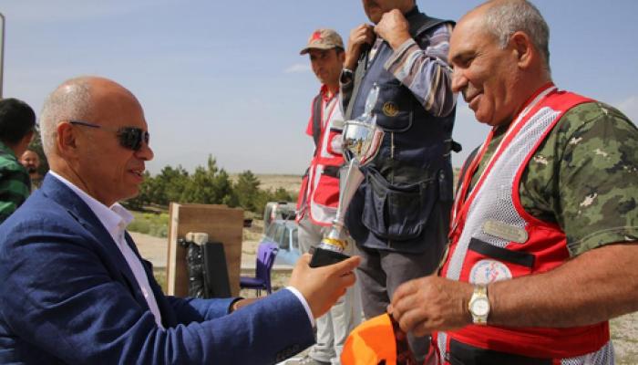 Başkan Çalışkan, Avcıbaşı Kupası ödül törenine katıldı