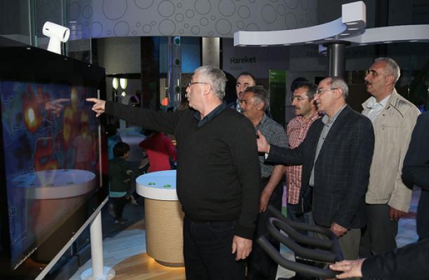 Bayburtlu eğitimciler Bilim Merkezi'ne hayran oldular